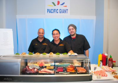 Pacific Giant Booth